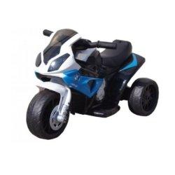 Электромотоцикл BMW S1000RR Blue (трицикл, 6V) - JT5188 (музыка, свет фар)
