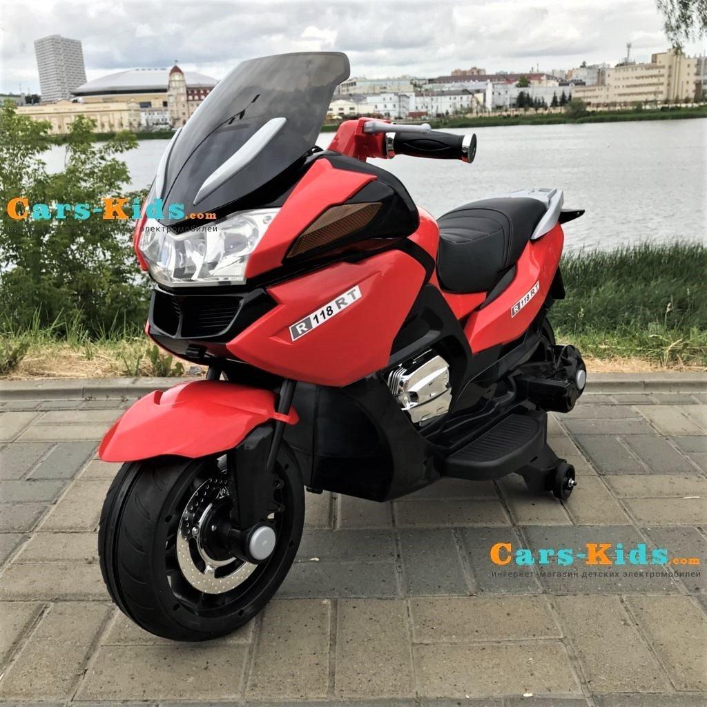 электромотоцикл Bmw R1200rt красный 12v Hzb 118 купить в симферополе